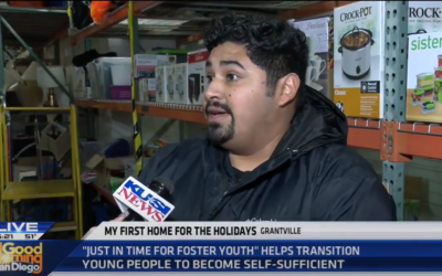 My First Home Featured on KUSI for the Holidays