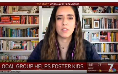NBC Highlights Struggles and Resilience of Foster Youth During COVID-19